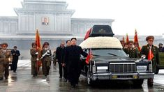 A photo released by the (North) Korean Central News Agency -(KCNA) of Kim Jong-il's funeral on 29 December 2011- Of the seven pallbearers at former leader Kim Jong-il's 2011 funeral, apart from Kim Jong-un, all have either been executed, have lost their jobs or have not been seen in some time