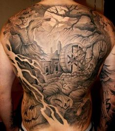 Showcase your Halloween tattoos - Page 7 Latest Tattoos, Great Tattoos, Beautiful Tattoos, Body Art Tattoos, Small Tattoos, Tatoos, Movie Tattoos, Incredible Tattoos, Ink Tattoos