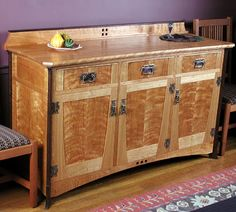 Portfolio of original handmade furniture by Purdys' Fine Furniture. Examples of custom wood furniture, as well as information about classes and seminars taught by Strother Purdy. Craftsman Style Furniture, Mission Style Furniture, Craftsman Decor, Furniture Styles, Fine Furniture, Furniture Decor, Furniture Design, Woodworking Tools For Sale, Easy Woodworking Projects