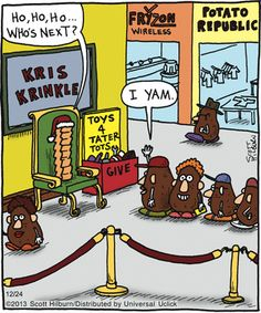 Official website of The Argyle Sweater featuring Scott Hilburn's daily Argyle Sweater comic panel and more, presenting a hilarious look at the world you think you know. Bad Puns, Funny Puns, Funny Cartoons, Funny Comics, Hilarious, Funny Food, Argyle Sweater Comic, Funny Images, Funny Pictures