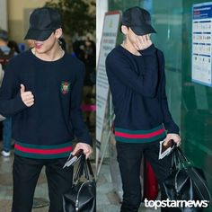 170504 GMP Heading to Japan #GOT7 #BamBam @bambam1a cr.topstarnews