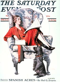 Candy by Norman Rockwell. The Saturday Evening Post, June 27, 1925.