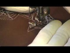 ▶ Free Motion Quilting Video: Space Star - YouTube