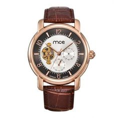 Cheap watch brand men, Buy Quality watch for directly from China watches for men Suppliers: mce Luxury Automatic Watch Mens Mechanical Brand Skeleton Leather Sport Watches for Men Business Relogio Masculino de Luxo Cheap Watches, Watches For Men, Men's Watches, Mens Dress Watches, Casual Watches, Tourbillon Watch, Mechanical Watch, Automatic Watch, Watch Brands