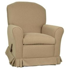 Little Castle Grand Glider Recliner With Optional Ottoman