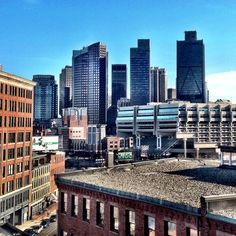 North end and downtown Boston