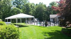 Even backyard pool parties need a little shade. We've got the perfect size tents for even the most intimate occasions!