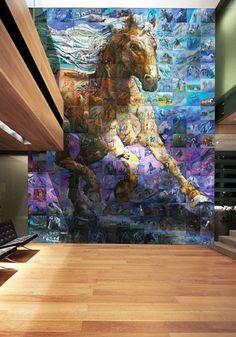 Mural Mosaic Art