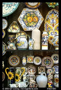 Orvieto Italy, famous for it's pottery