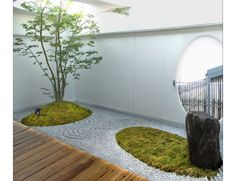 wa-so modern Japanese garden landscaping