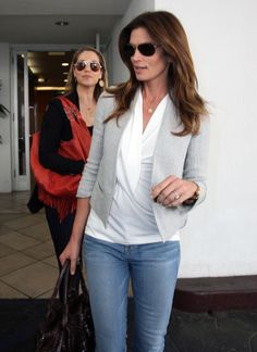 cindy crawford casual outfits | Cindy Crawford Style » Lookbook