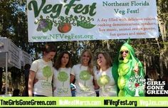 Northeast #Florida #VegFest, #Jacksonville, Florida 7 March http://www.nfvegfest.org