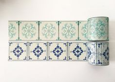 Moroccan Tiles Washi Tape Wide Washi Tape
