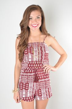 a73e4de270b7d Need this in my life! Also more maroon.  hailstate Rompers + Jumpers –
