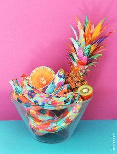 Você Sabia?   Conheça a artista que ama colorir frutas