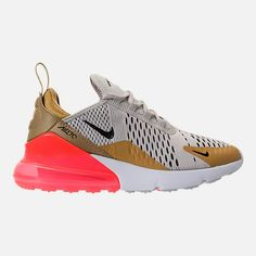 off Black Friday Women s Nike Air Max 270 Casual Shoes in Flint Gold Black Light  Bone Hot Punch 8b9426fcf