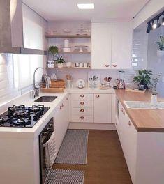 Kitchen Wall Colors, Kitchen Room Design, Home Room Design, Modern Kitchen Design, Home Decor Kitchen, Kitchen Furniture, Interior Design Living Room, Design Interior, Kitchen Paint