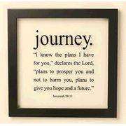 Journey - Jeremiah 29:11