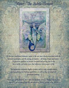 Elemental Magick | Water, the Subtle Element