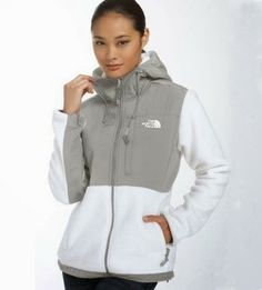 50f6ac052d North Face Femme Populaires Blanche Grises Veste North Face Outlet Store,  Air Jordan Sneakers,