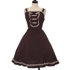 ♡ Innocent World ♡ Hildegard jumper skirt http://www.wunderwelt.jp/products/detail13389.html ☆ ·.. · ° ☆ How to order ☆ ·.. · ° ☆ http://www.wunderwelt.jp/user_data/shoppingguide-eng ☆ ·.. · ☆ Japanese Vintage Lolita clothing shop Wunderwelt ☆ ·.. · ☆