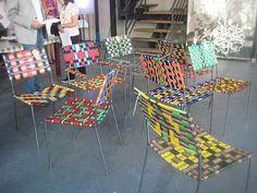 Franz West chairs