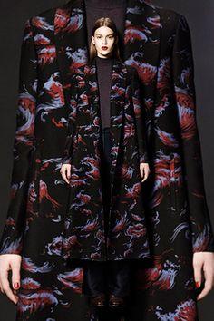 Araks Drew Coat 12 Coat Trends To Warm Up To #refinery29 http://www.avenue32.com/designers/araks/black-twill-long-drew-coat-48201.html