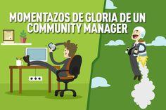 El trabajo de un #CommunityManager da para mucho ¡y por supuesto tiene sus grandes momentos de gloria! #HoySeMueveEnTilo Rocío y nos comenta los mejores instantes de placer para un CM ¡Os va a gustar...! ;)