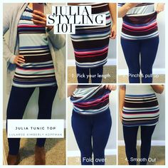 Julia styling 101: The Julia Tunic Top. My favorite way to wear this piece as more than a pencil dress. Simple and easily paired with jeans, thick warm sweater cardigan and ankle boots. Find me on FB for more tips and shopping experiences at LuLaRoe Kimberly Kopfman #lularoe #lularoejulia #styling #lularoestyling