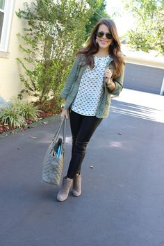 Glitter and Gingham : leather + bows