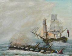 Death of a Queen, HMS Queen Charlotte (1790), Livorno 1800.