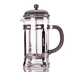 French Press 20 Oz Pot Coffee Espresso and Tea Maker Chrome Includes 6 Filters by Procizion * Read more reviews of the product by visiting the link on the image.Note:It is affiliate link to Amazon.
