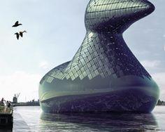 energy duck concept could generate renewable power for copenhagen