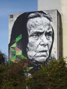 Caldas da Rainha 3d Street Art, Street Art Graffiti, Interesting Photos, Visual Effects, Urban Art, Murals, Mount Rushmore, Stencils, Portugal