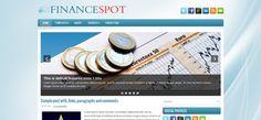 FinanceSpot Blogger Template | Cool Blog Templates | Premium Blogger Templates | New Wordpress Templates