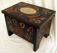 2005 rosemaling show Holly Green