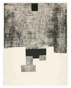 Eduardo Chillida Homenaje a Luis Bergareche, Etching, on arches wove paper. Plate size: H x W. Sheet size: H x W. Edition of 50 and 10 artist's proofs. Modern Art, Contemporary Art, Monochromatic Art, Drypoint Etching, Illustration Art, Illustrations, Black And White Abstract, Collage Art, Printmaking