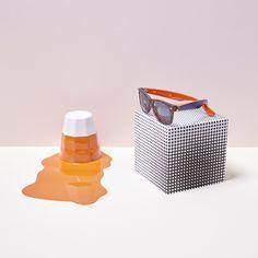 Get your orange on with the new Color #Wayfarer @ http://neverhi.de/lx5l