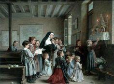 Morning Prayer  André-Henri Dargelas (1828–1906)