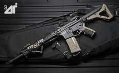 LanTac L-TAR15 .223 Straight Pull RIfle by Threedi, via Flickr