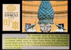 Symbol Dictionary, Duality Of Man, Esoteric Art, Royal Art, Pine Cone, Art And Architecture, Cosmic, Two By Two, Symbols