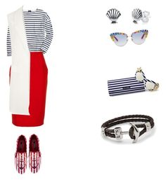 """Cruise"" by irina-sergeeva-1 on Polyvore featuring Saint James, Likely, WearAll, Disney and Dolce&Gabbana"