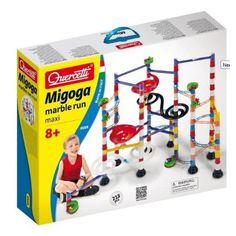 Tor dla kuleczek - kulodrom – Migoga Marble Run MAXI Quercetti Childhood Images, Childhood Toys, Building Toys, Maxis, Educational Toys, Kids Toys, Runes, Banner, Running