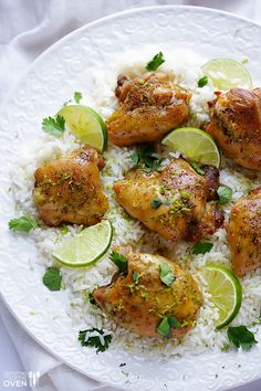 Easy Lime Chicken… perfect weeknight dinner with minimal prep, and lots of great flavor! Sub Cauliflower for rice. Healthy Weeknight Dinners, Easy Meals, Lime Chicken Recipes, Cooking Recipes, Healthy Recipes, Cooking Time, Turkey Recipes, Dog Recipes, Carne