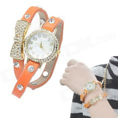 Color: Orange Red; Brand: NO; Model: NO; Quantity: 1 Piece; Shade Of Color: Orange; Casing Material: Copper; Wristband Material: PU; Suitable for: Adults; Gender: Women; Style: Wrist Watch; Type: Fashion watches; Display: Analog; Backlight: NO; Movement: Quartz; Display Format: 12 hour format; Water Resistant: NO; Dial Diameter: 3 cm; Dial Thickness: 0.8 cm; Wristband Length: 36 cm; Band Width: 0.8 cm; Battery: 1 x LR626, included; Packing List: 1 x Wrist watch; http://j.mp/1naVlnW