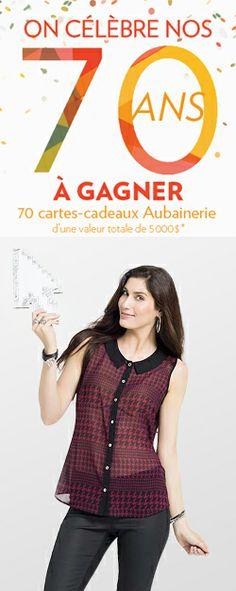 70 cartes-cadeaux Aubainerie à gagner. Fin le 27 avril  http://rienquedugratuit.ca/concours/70-cartes-cadeaux-aubainerie-a-gagner/