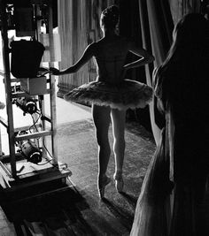Behind the Curtain at the New York City Ballet, photographed by Henry Leutwyler