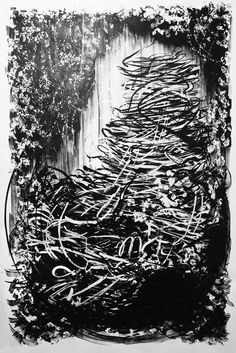 Artworks, Ink, Abstract, Drawings, Paper, Summary, Sketches, India Ink, Drawing