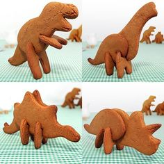 3D Dinosaur Cookie Cutters for kids