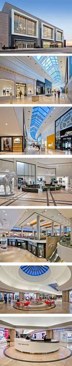 Sherway Gardens in Torono,ON - designed by GH+A (in collaboration with Dialog)
